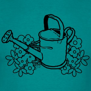Garden watering flower gardening T-Shirts - Men's T-Shirt