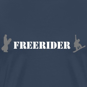 Freerider - Men's Premium T-Shirt