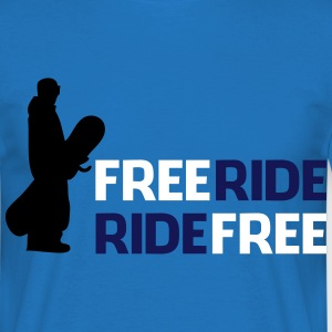 Freeride, Ride free - Men's T-Shirt