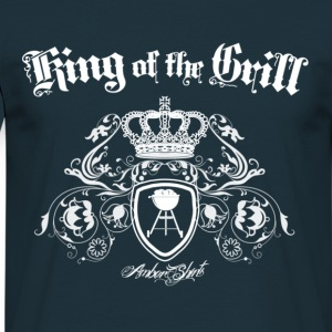 King of the Grill (BBQ) - Men's T-Shirt