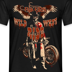 cow boy bis T-Shirts - Men's T-Shirt