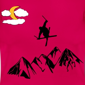 Freestyle Skier - Dame-T-shirt