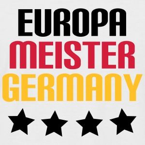 Europameister Germany - Männer Baseball-T-Shirt