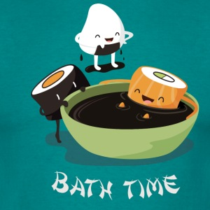 Sushi Bath Time T-Shirts - Men's T-Shirt