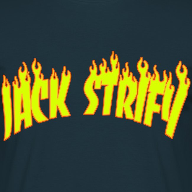 Strify in Flames T Shirt