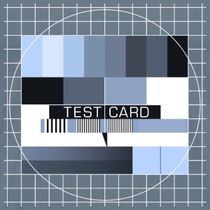 Fernseh-Testbild test card Vintage Retro TV-screen T-Shirts - Männer Premium T-Shirt
