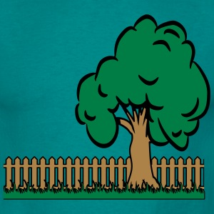 garden tree T-Shirts - Men's T-Shirt