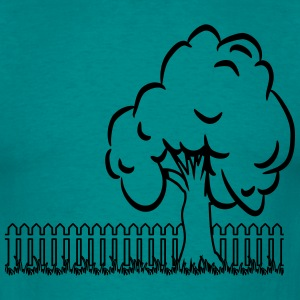 garden tree T-shirts - Mannen T-shirt