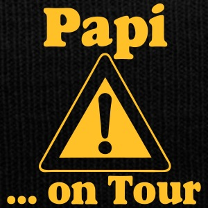 Vatertag ,Papi on Tour Caps & Mützen - Wintermütze
