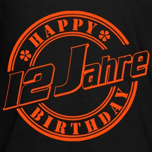 12Happy Birthday Siegel Langarmshirts - Teenager Premium Langarmshirt
