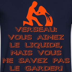 homme verseau - T-shirt Homme col V