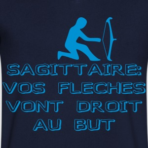 homme sagittaire - T-shirt Homme col V