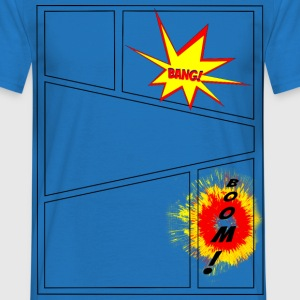 Comic Panels T-Shirts - Männer T-Shirt
