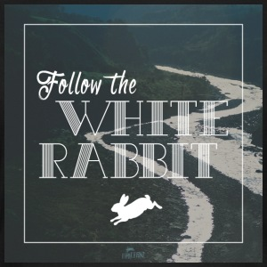 Follow the white rabbit - Frauen T-Shirt