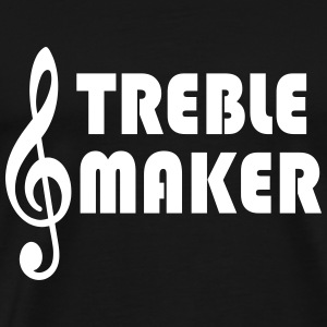Treble Maker - Premium T-skjorte for menn