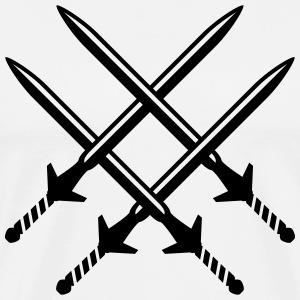 swords T-Shirts - Men's Premium T-Shirt