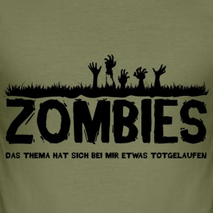 Zombies T-Shirts - Männer Slim Fit T-Shirt