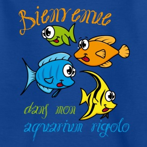 aquarium poissons rigolos Tee shirts - T-shirt Enfant
