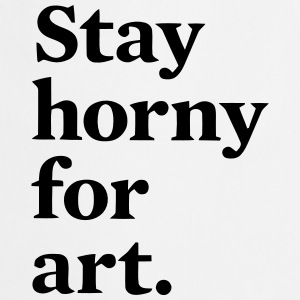 HORNY STAY UP ART  Aprons - Cooking Apron