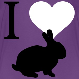I love bunnies - Kids' Premium T-Shirt
