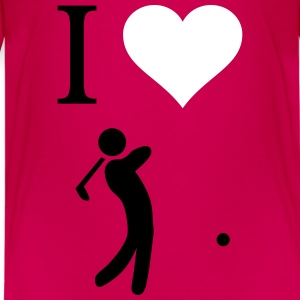 I love Golf - Teenager Premium T-Shirt