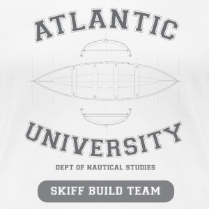 Atlantic Skiff Builder - Women's Premium T-Shirt