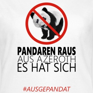 Anti-Pandaren-Shirt - Frauen T-Shirt
