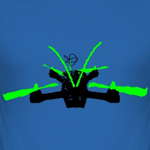 FPV Quad - Men's Slim Fit T-Shirt
