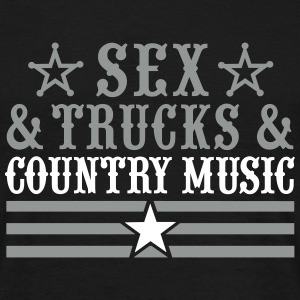 Sex and Trucks and Country Music T-Shirts - Männer T-Shirt