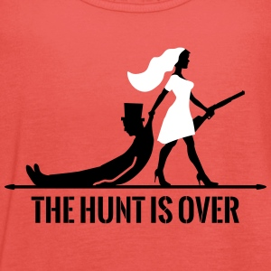 The hunt is over JGA Junggesellenabschied Party Tops - Vrouwen tank top van Bella