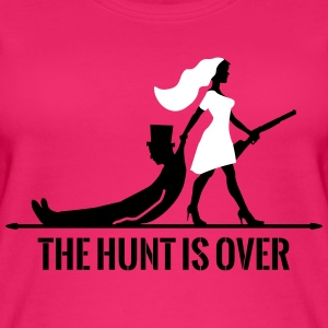 The hunt is over JGA Junggesellenabschied Party Tops - Vrouwen bio tank top