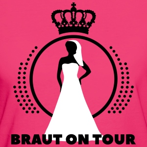 Braut on tour JGA Junggesellinen Party T-Shirts - Frauen Bio-T-Shirt