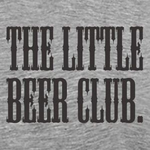 The Little Beer Club. Grey T Shirt - Men's Premium T-Shirt