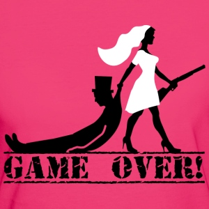 the hunt is over JGA Game over die Jags ist vorbei - Frauen Bio-T-Shirt