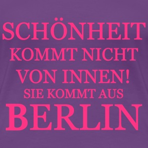 Berlin Beauty - Dame premium T-shirt