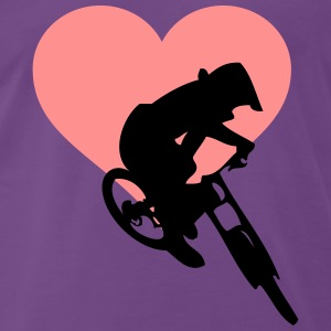 Downhill love - Men's Premium T-Shirt
