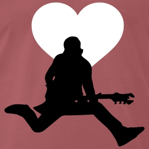 Rocker love - Men's Premium T-Shirt