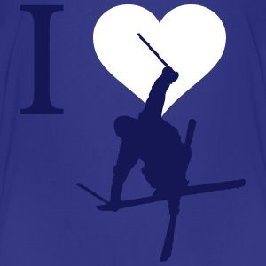 I love ski - Kids' Premium T-Shirt