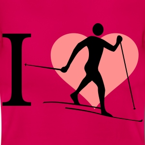 I love cross country skiing - Women's T-Shirt