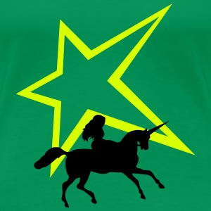 Unicorn star - Women's Premium T-Shirt