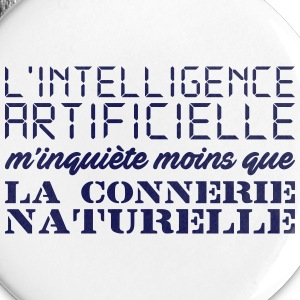 Intelligence artificielle Badges - Badge moyen 32 mm