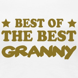 Best of the best granny T-shirts - Vrouwen Premium T-shirt