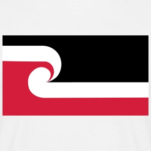 Maori Flag T-Shirts - Men's T-Shirt