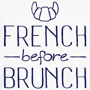 French Before Brunch Tee shirts - T-shirt Homme col V