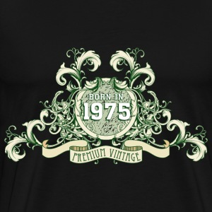 042016_born_in_the_year_1975c T-Shirts - Männer Premium T-Shirt
