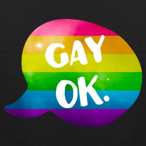 Gay Ok Rainbow LGBT Sports wear - Men's Premium Tank Top