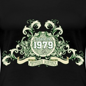 042016_born_in_the_year_1979a T-Shirts - Frauen Premium T-Shirt