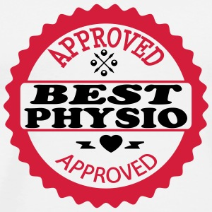 Approved best physio Tee shirts - T-shirt Premium Homme