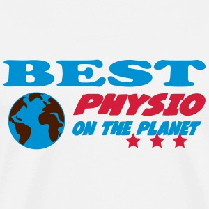 Best physio on the planet Tee shirts - T-shirt Premium Homme