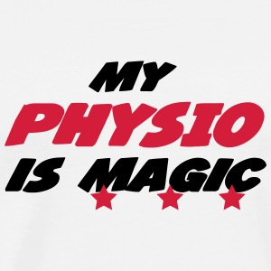My physio is magic T-shirts - Mannen Premium T-shirt